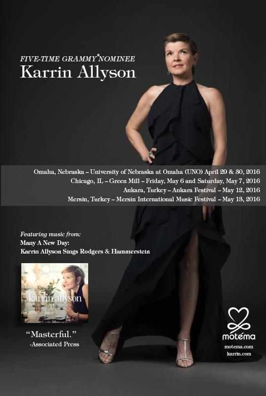 Karrin Allyson Spring Schedule