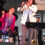 KA & Anat Cohen @ Newport Jazz Fest (photo by Ken Needleman)